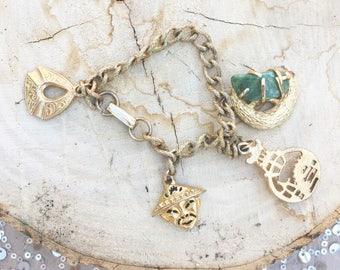 Vintage Chinese Charm Bracelet