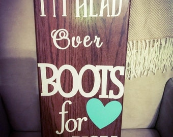 Rustic signs!