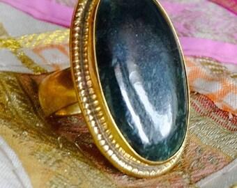 Guatemala - Oscura jade ring