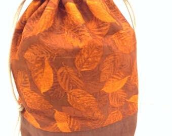 Project bag knitting bag crochet bag