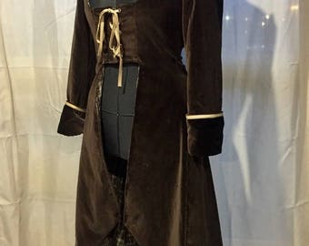 Coat steampunk Pirate woman size 38