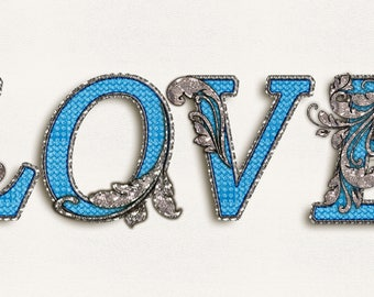 Love in blue