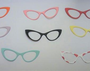 Die Cut Glasses- Cat eye 10