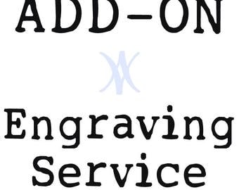 Engraving Service Add-On