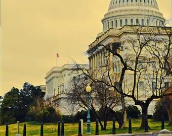 US Capitol STOP Washington DC photo