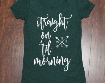 Straight On Til Morning Peter Pan T-Shirt