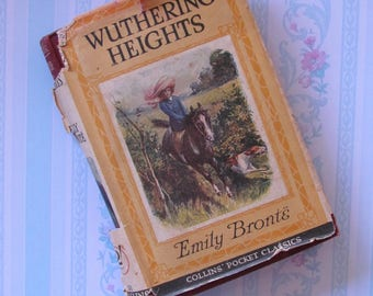 Wuthering Heights, Emily Brontë, in english, 1920 edition