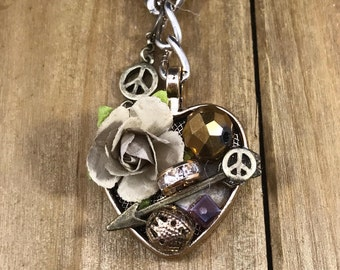 Peaceful Heart Necklace