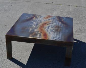 Table low plexiglas