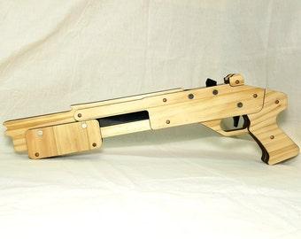 Rubber band gun Shotgun