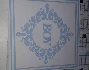 Baby boy/girl card