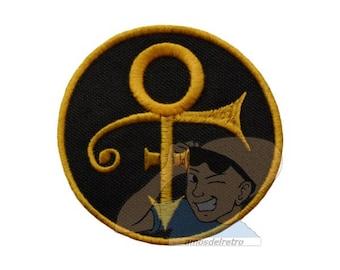 Prince Love Symbol Embroidered Patch Purple Rain Pop Rock Logo