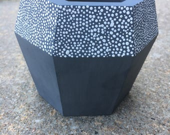 Patterned Plant Pot - Custom