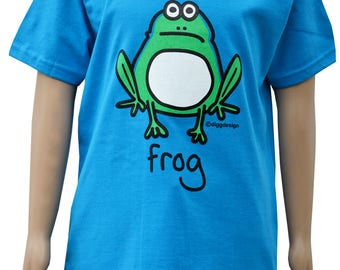 Boys blue  Frog T.shirt