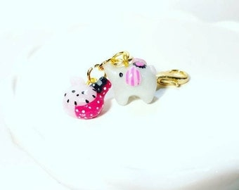 Mouton and Shappo Clay Charms