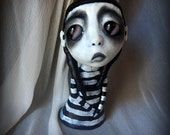 Loopy Gothic Art Doll Lowbrow Dark Goth Dotty