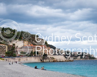 Nice, France, Cote Azure, Mediterranean sea, travel photo, Fine Art Photography, travel photography, Gallery Prints,