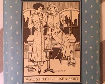 "Folkwear Misses' 'Wall Street' Blouse and #232 Size 6 - 16, Bust 30 - 38"" - OH-  Folkwear Pattern / Costume Pattern / Period Costume"