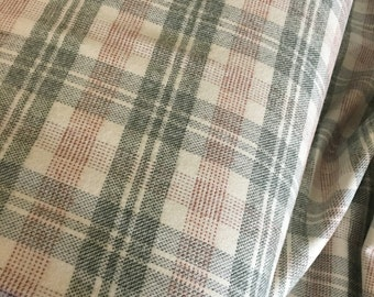Flannel Plaid fabric, Brushed Flannel, Flannel Shirting fabric, Lumberjack Chic, Tahoe Flannel, Plaid in Olive 449, Choose the cut