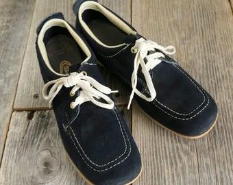 SALE Blue Suede Shoes BOWLING Footwear