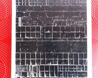 1960s Swedish design annual book / 60s Kontur soft cover interior furniture book  / original Mid Century design book
