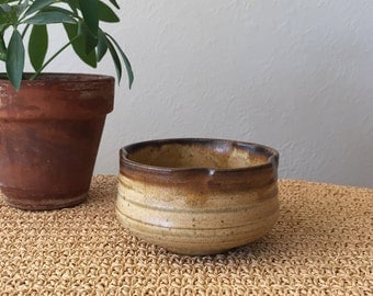 Pinched Stoneware Planter