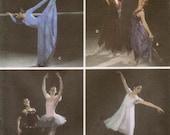 Simplicity 5138 Misses Ballet Costumes Pattern Tutu Skirt Gown OOP RARE Uncut Romantic Jazz Dance Size 6 8 10 12