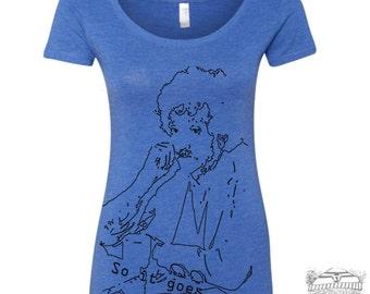 Womens Kurt VONNEGUT Scoop Neck Tee - T Shirt S M L XL XXL (+ Colors)