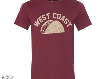 Men's TACO West Coast t shirt s m l xl xxl (+ Color Options)