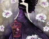 Winter Sale 20% OFF - Purple Meadow - open edition print