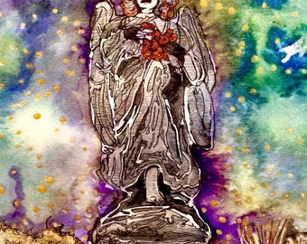 Angels Among Us: Art Prints in Various Sizes