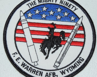 The Mighty Ninety Warren AFB Patch
