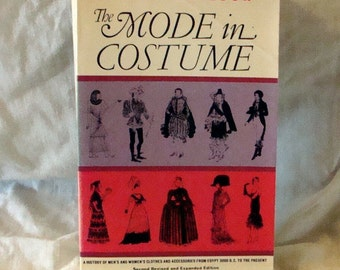 Sale The Mode in Costume Costume Book From 3000 BC to 1958