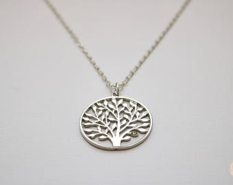 Tree of life Silver Necklace.