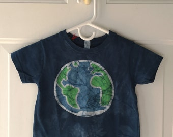 Kids Earth Day Shirt, Blue Earth Shirt, Kids Earth Shirt, Boys Earth Shirt, Girls Earth Shirt, Toddler Earth Shirt (3T)