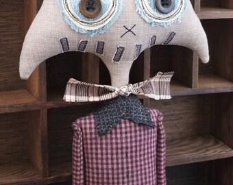 Art Doll, Stuffed Monster - Griffin