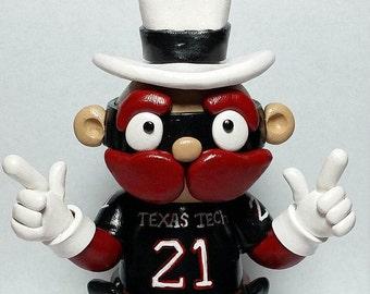 Texas Tech Mascot Cake Topper