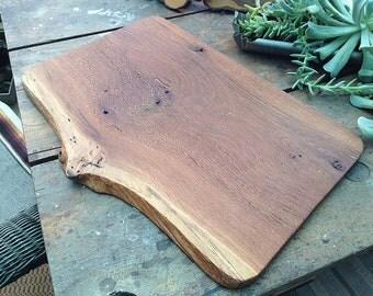 Old Oak Bread Board/ Serving Board