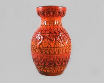 Vintage Pottery Vase Bay West Germany Bodo Mans