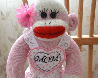 Sock Monkey Doll, Mother's Day