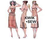 80s Full Slip Half Slip and Camisole Pattern Kwik Sew 941 Sizes XS - L UNCUT Factory Folds
