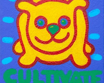 Cultivate Optimism cards or print  copyright Hillary Vermont