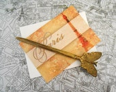 Vintage Brass Butterfly Letter Opener