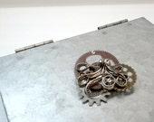 Kraken - Steampunk Octopus Costume Brooch