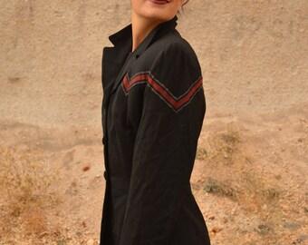 Vintage Rare 40s Military Jacket Lilli Ann Wool Coat