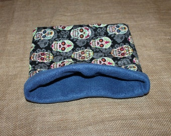 MEDIUM Sugar Skull Pouch for Small Pets- Guinea pigs, Rats, Rodents, Hedgehogs and more!