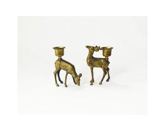 Deer candle holder | Etsy