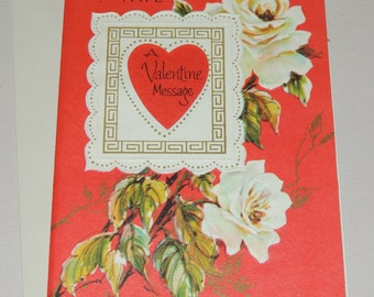 1950s Valentine for Brother and Wife