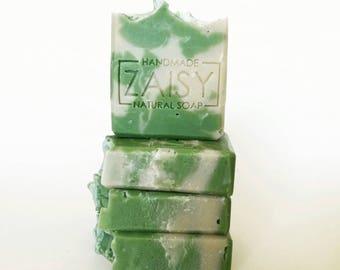 Coconut Mango Soap, Handmade Soap, Cold Processed Soap, Bubbly, Fruity Tropical Beach Soap by Zaisy on Etsy