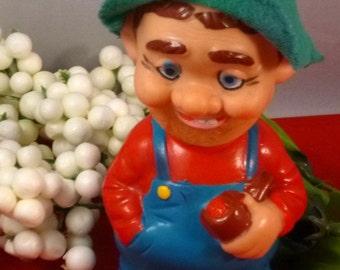 Vintage Alps Hillbilly Wind Up Toy, 1960s